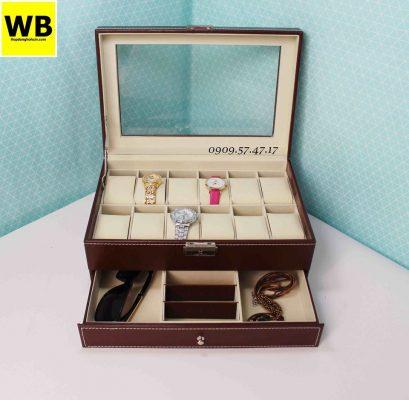 hộp đựng đồng hồ và đồ trang sức