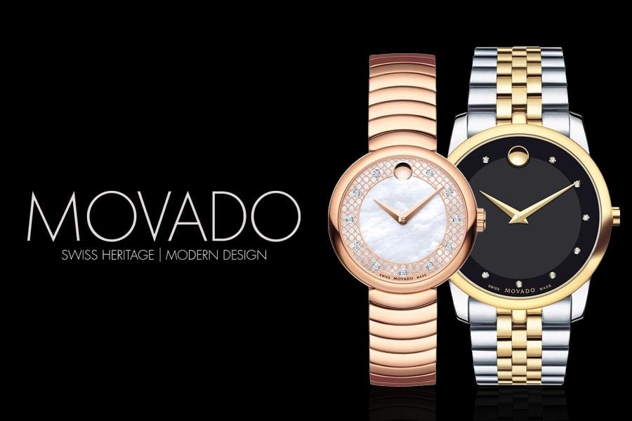 cách kiểm tra đồng hồ Movado chính hãng