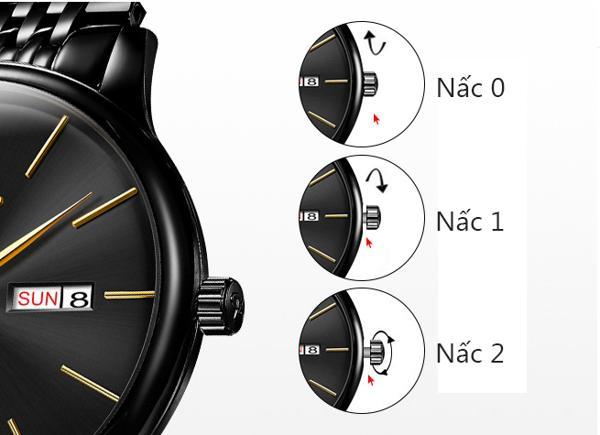 hướng dẫn cách chỉnh lịch của đồng hồ cơ một cách chi tiết