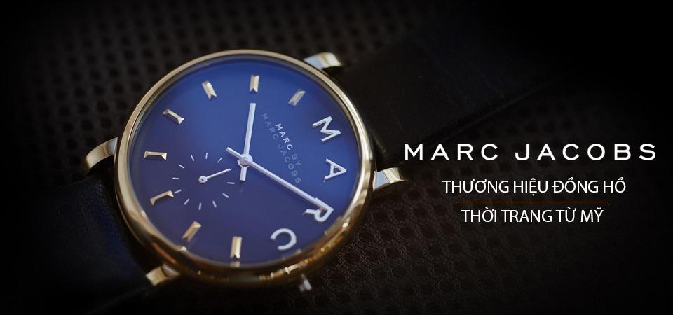 dấu hiệu của đồng hồ Marc Jacob chính hãng
