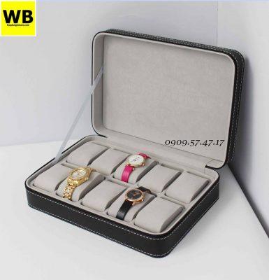 Hộp đựng đồng hồ khóa kéo