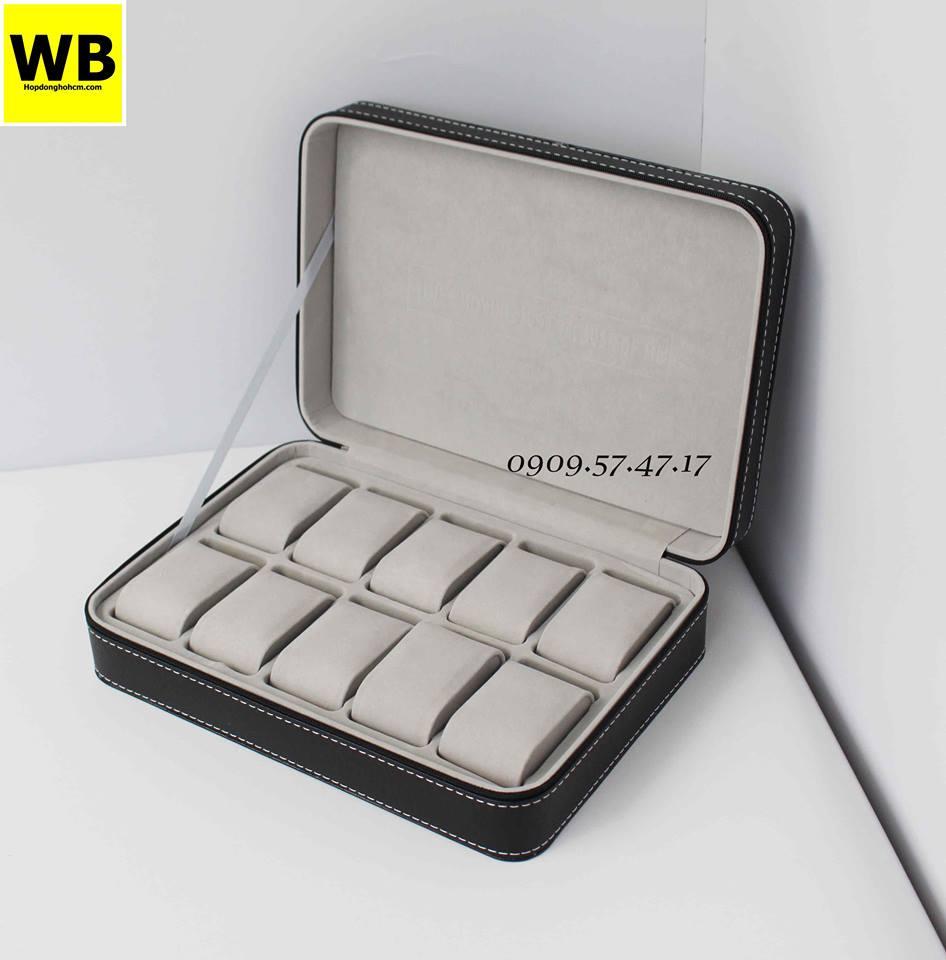 hộp đựng đồng hồ có khóa