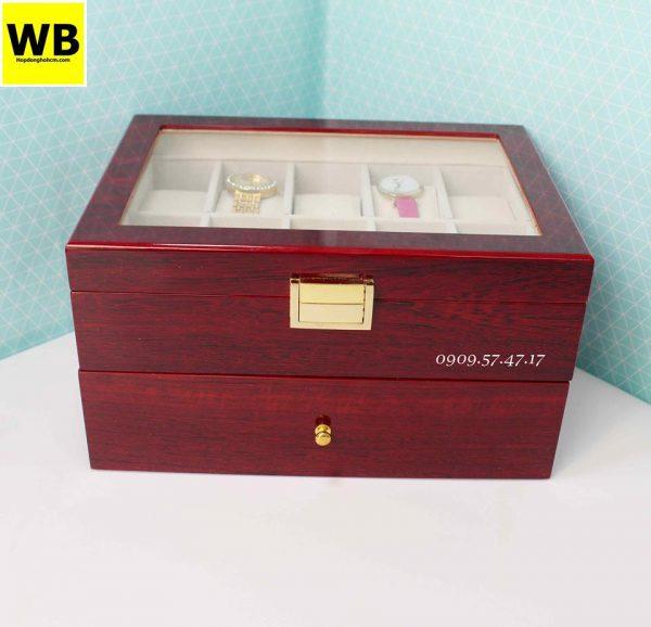 hộp đồng hồ gỗ