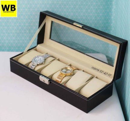 hộp đựng đồng hồ bằng simili
