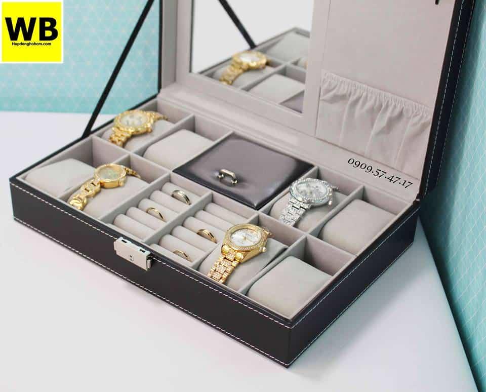 Hộp đựng đồng hồ trang sức