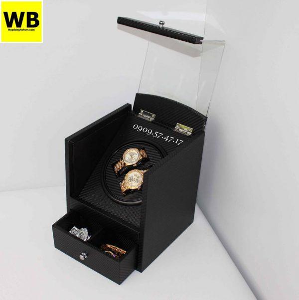 Hộp xoay đồng hồ cơ tự động