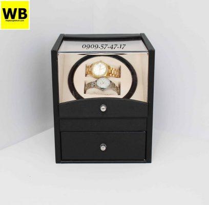 hộp quay đồng hồ cơ có ngăn chứa