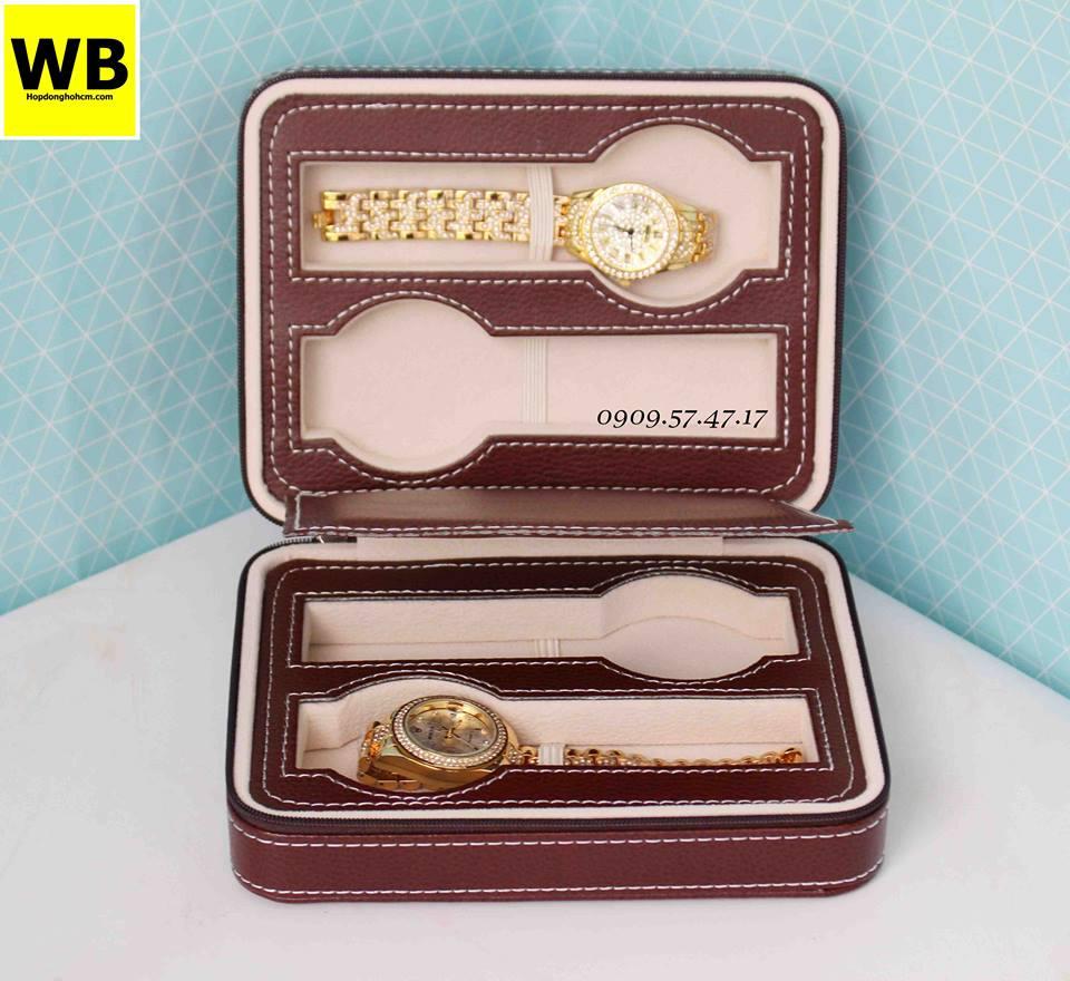 mẫu hộp đồng hồ da