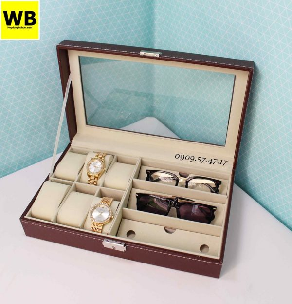 Hộp đựng đồng hồ và mắt kính
