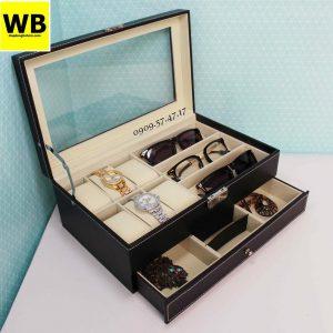 Hộp đựng đồng hồ mắt kính trang sức