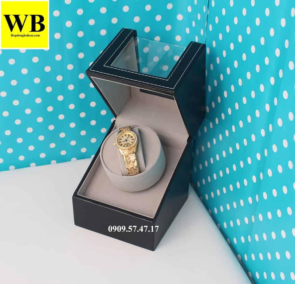 hộp xoay đồng hồ giá rẻ 1 chiếc bằng da