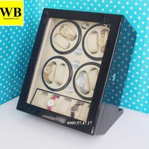 Tủ xoay đồng hồ 8 chiếc 5 trưng bày gỗ 1