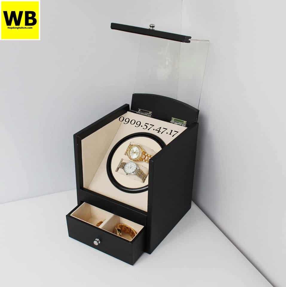hộp lên dây cót automatic đồng hồ