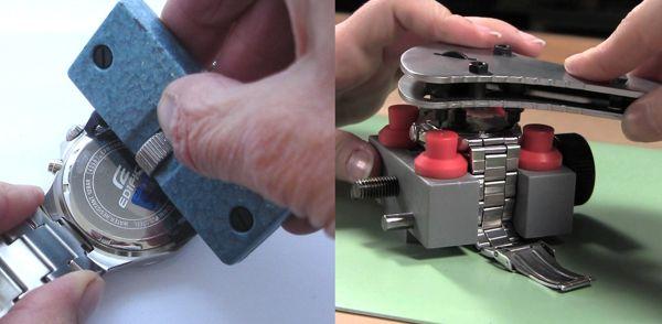 cách mở nắp đáy đồng hồ đeo tay