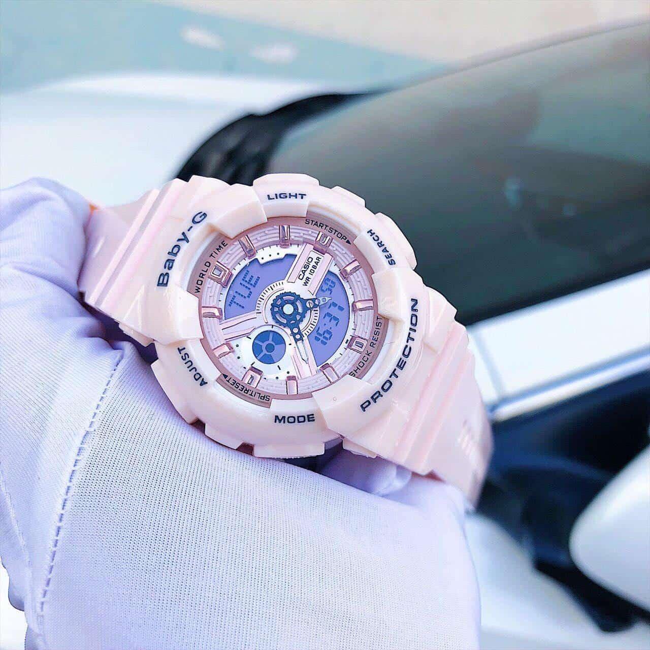 bạn đã chỉnh giờ cho đồng hồ baby g đúng cách