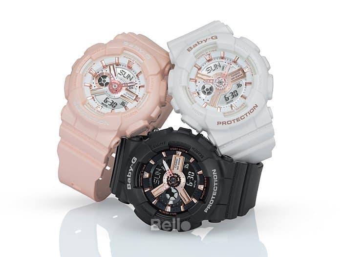 cách chỉnh giờ đồng hồ baby-g