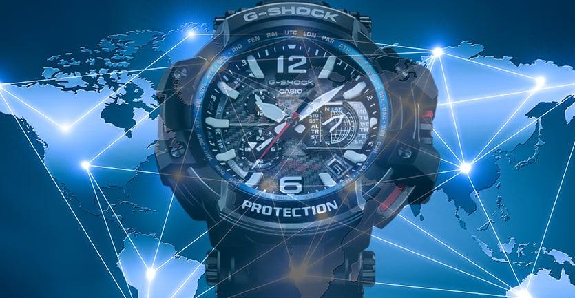 cách chỉnh giờ worldtime cho đồng hồ g shock của bạn
