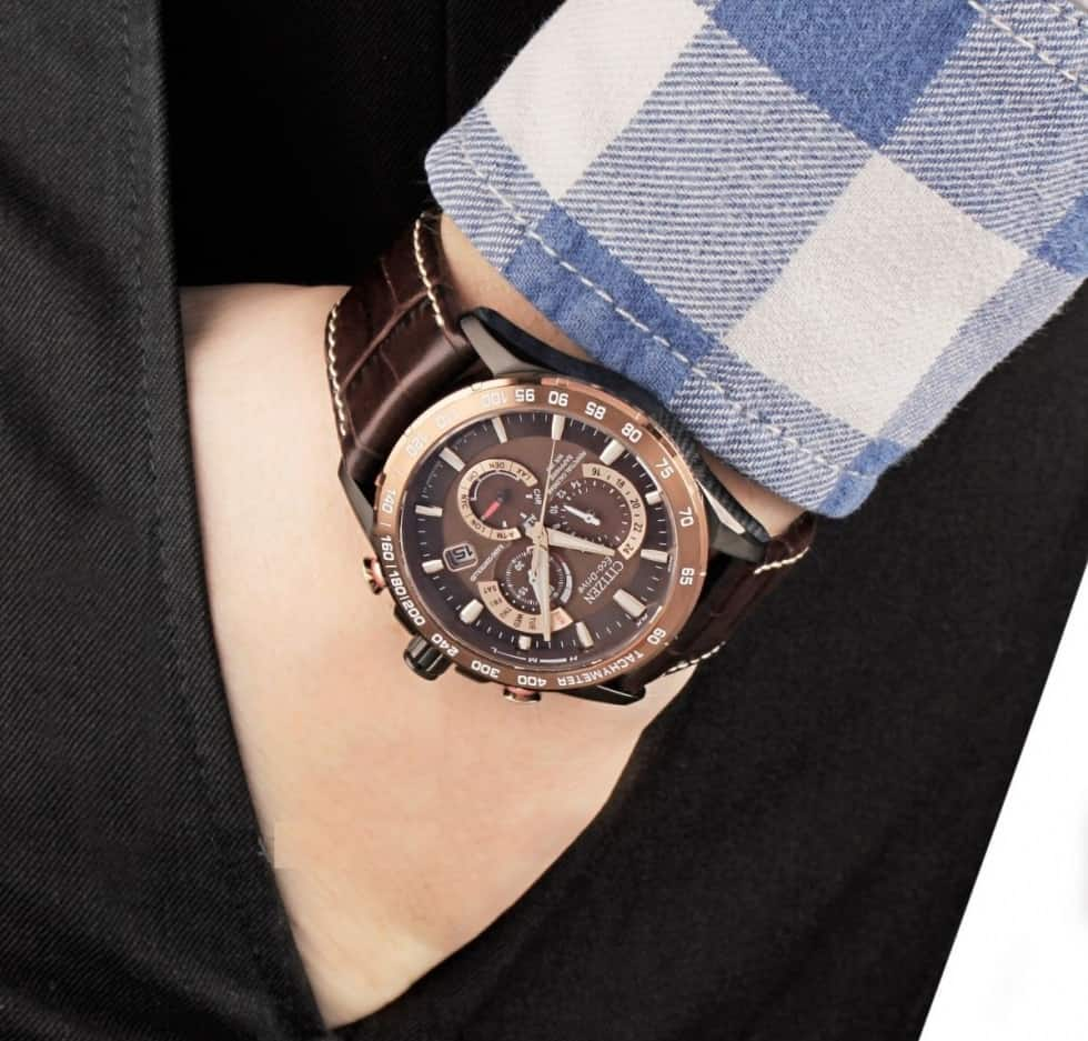 chọn vị trí đeo đồng hồ phù hợp