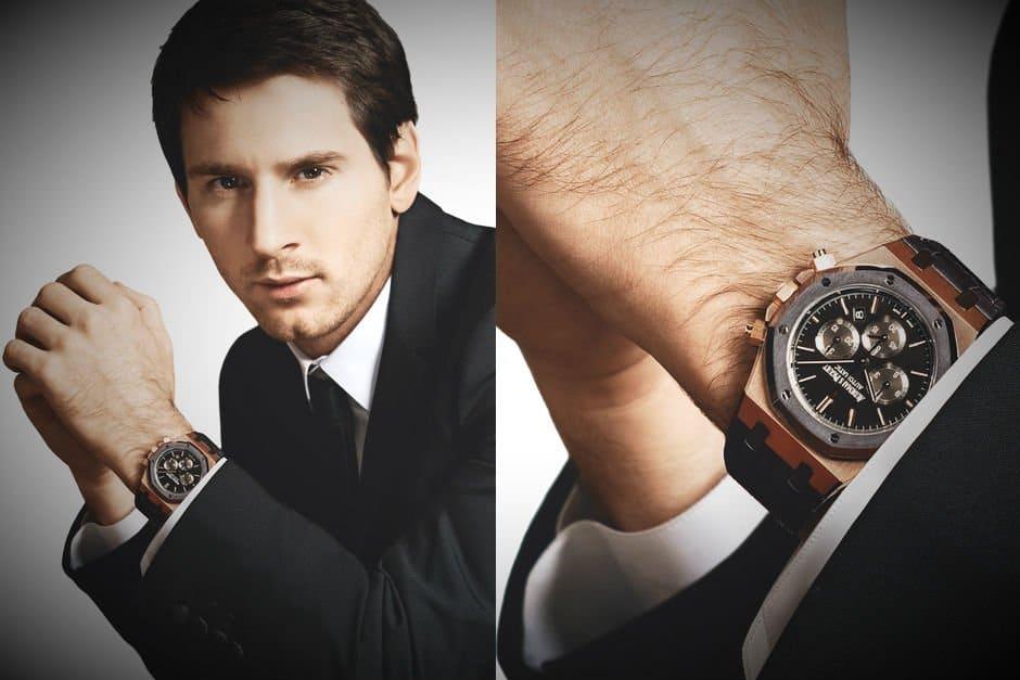 cách đeo đồng hồ cho nam phù hợp với trang phục