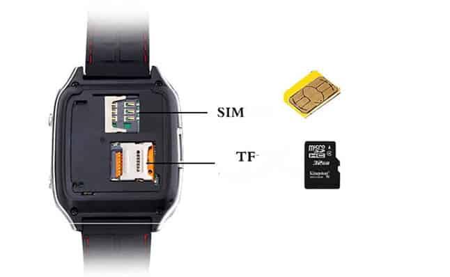 sử dụng gắn sim vào đồng hồ smartwatch
