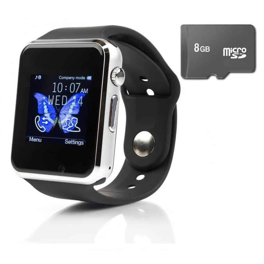 sử dụng thẻ nhớ trên đồng hồ smartwatch