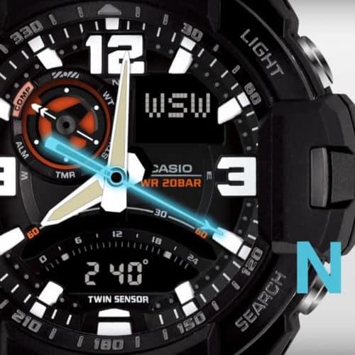 Chức năng la bàn trên đồng hồ đeo tay