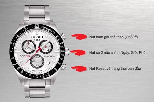 cách sử dụng đồng hồ chronograph đúng cách