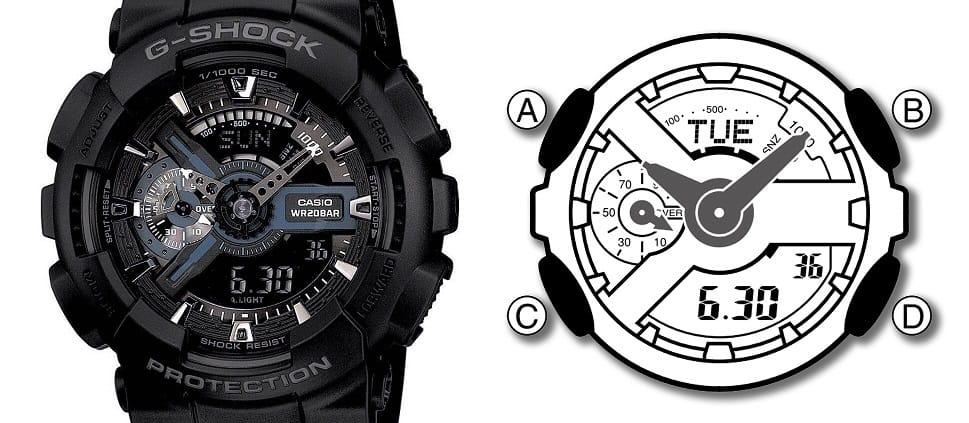 sử dụng đồng hồ g shock của bạn một cách đơn giản