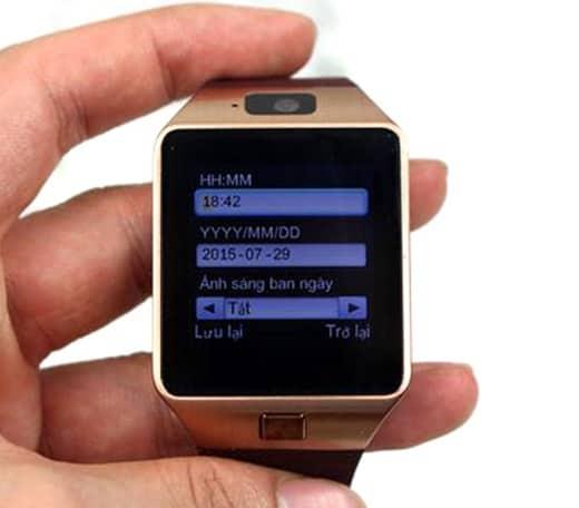 cách sử dụng đồng hồ smartwatch thông minh