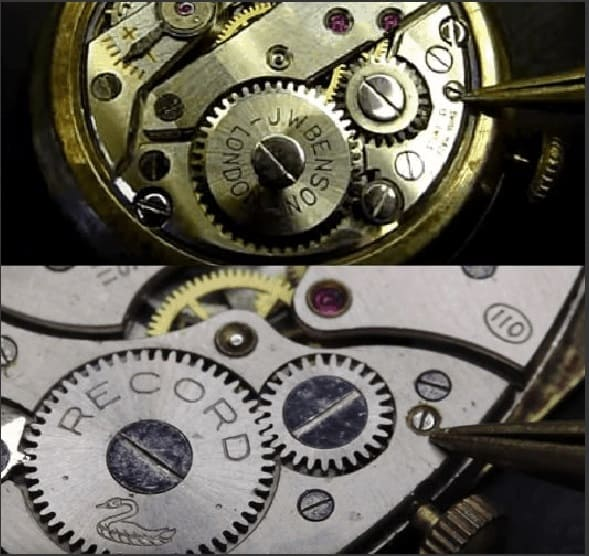 cách tháo núm đồng hồ cơ đeo tay