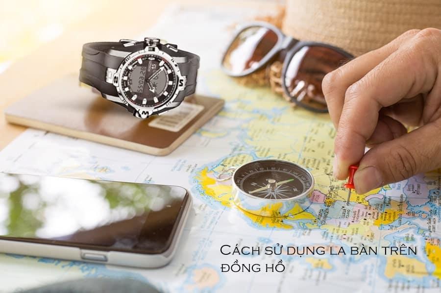 cách xác định phương hướng bằng đồng hồ đeo tay