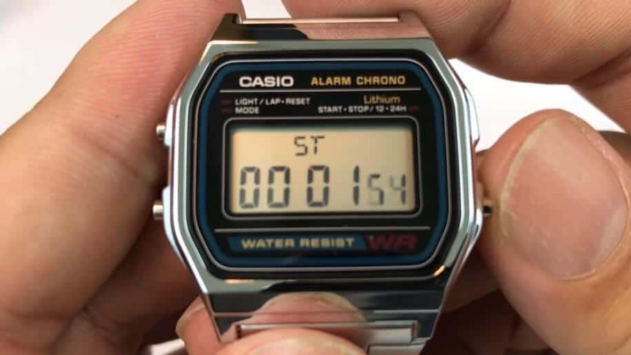 chỉnh giờ cho đồng hồ water resist đơn giản