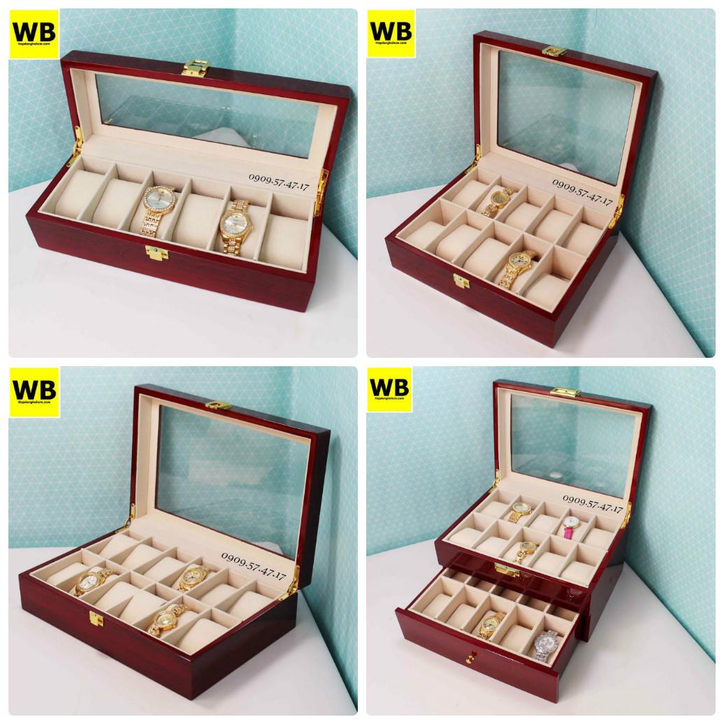 hộp để đồng hồ gỗ