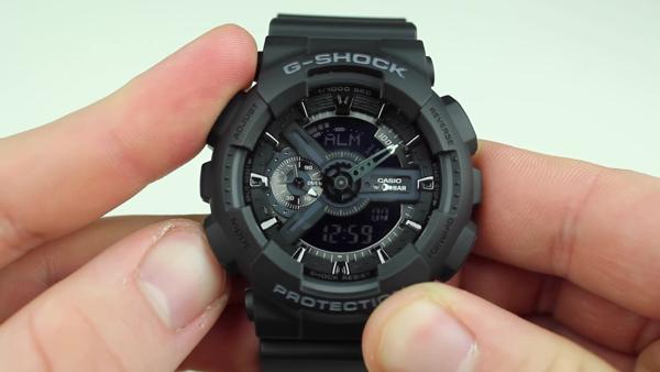 chỉnh giờ báo thức cho chiếc đồng hồ g shock của bạn