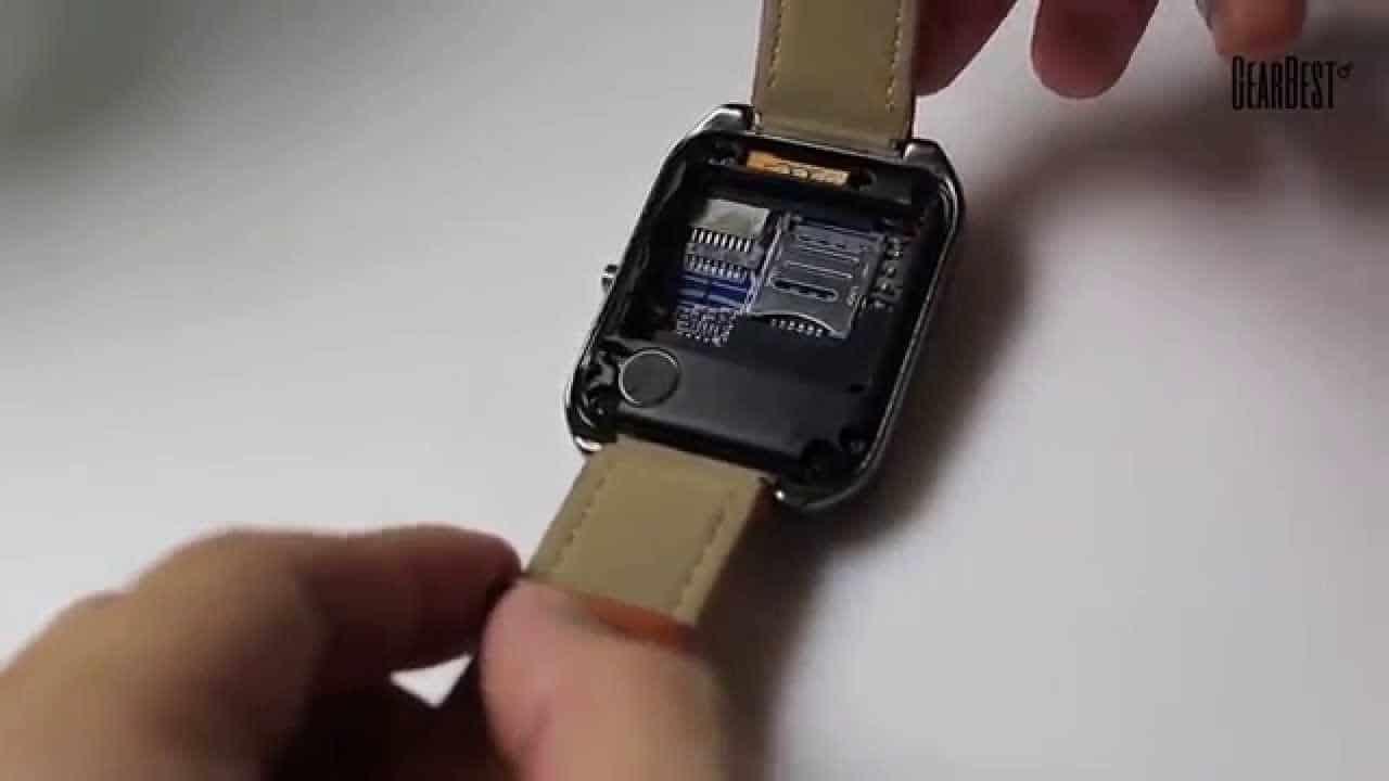 cách gắn thẻ sim vào đồng hồ smartwatch tại nhà