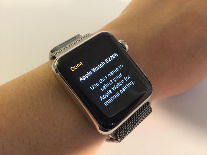 hướng dẫn kết nối iphone với apple watch
