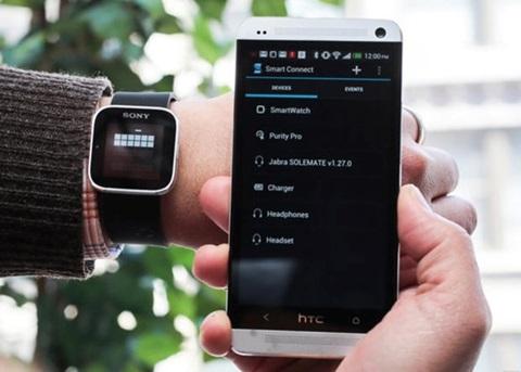 cách kết nối đồng hồ với điện thoại androi