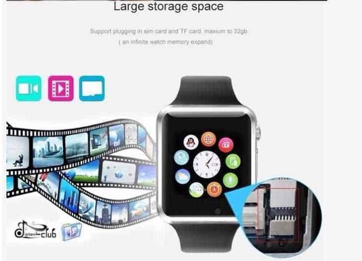 Sử dụng chức năng lưu trữ dữ liệu trên đồng hồ thông minh