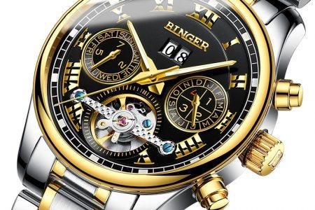 Chọn độ dày của đồng hồ đeo tay nam đơn giản