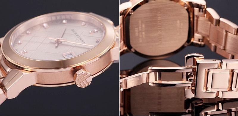 các nhận biết đơn giản về đồng hồ chính hãng burberry