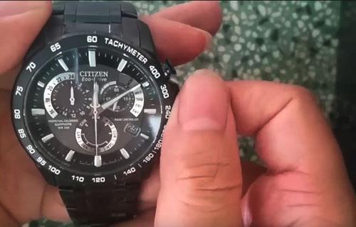 hướng dẫn chỉnh đồng hồ đơn giản trên Citizen
