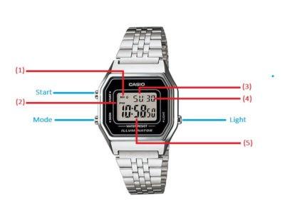 hướng dẫn chỉnh giờ hiện thành cho đồng hồ casio 3 nút
