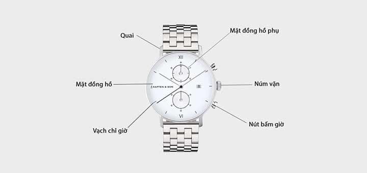 cách chọn size đồng hồ đeo tay
