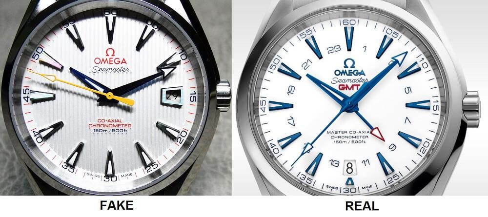 các dấu hiệu nhận biết đồng hồ omega thật giả
