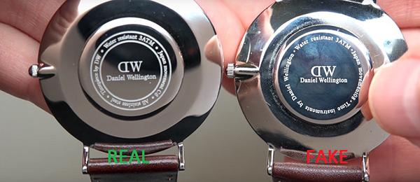 có rất nhiều cách để phân biệt đồng hồ chính hãng