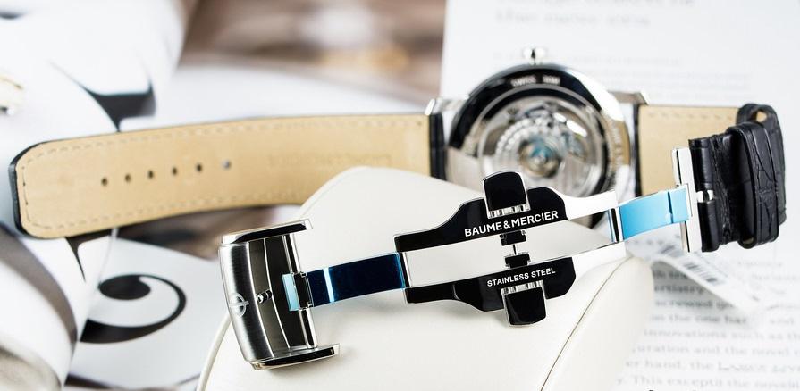 cách thay khóa chống hư dây da cho đồng hồ