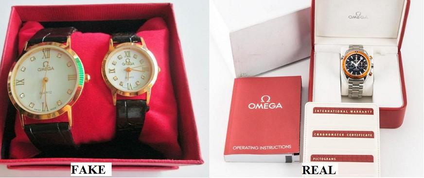 cách xác định bằng mắt nhìn để biết đồng hồ omega chính hãng