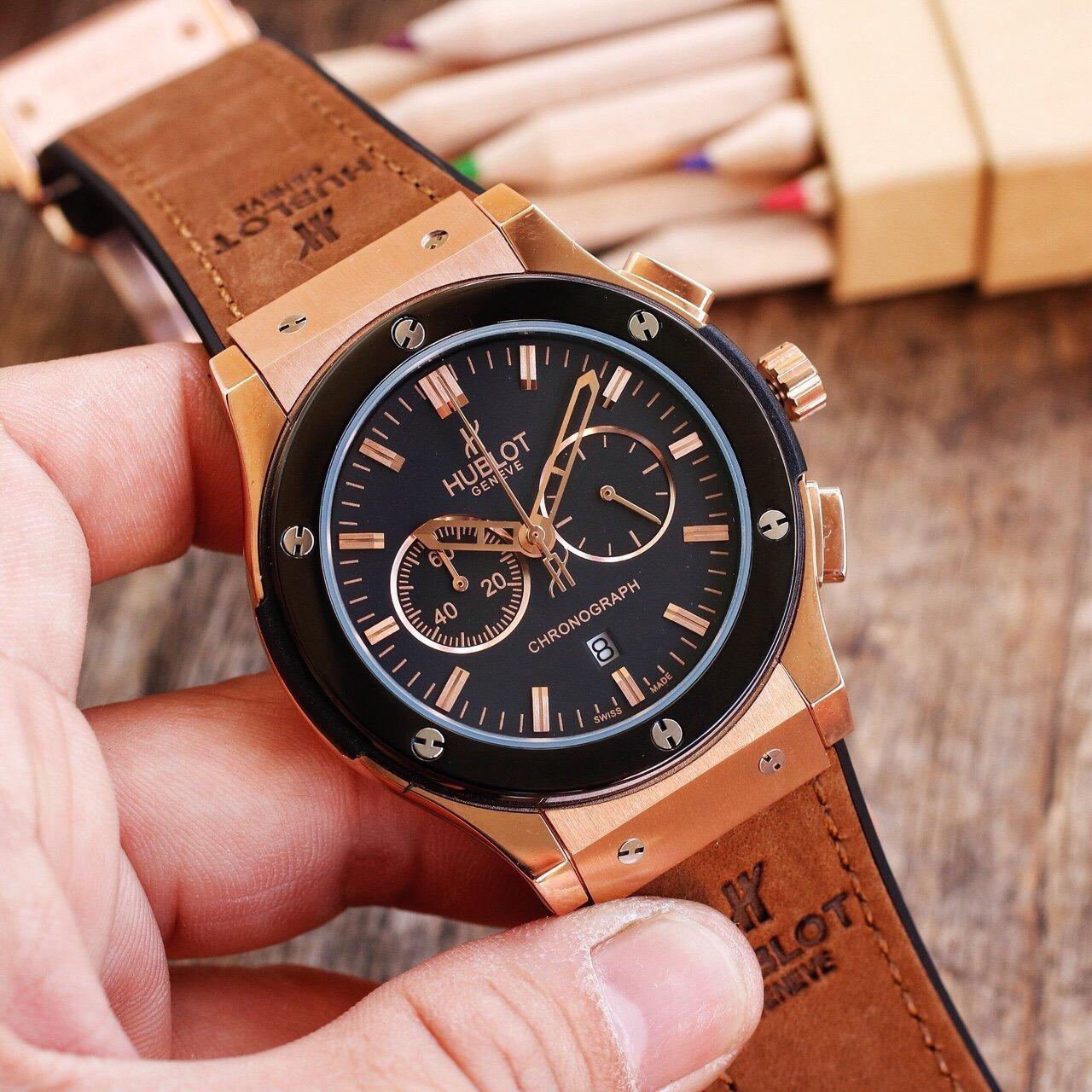 chỉnh dây đeo đồng hồ 5 kim đơn giản
