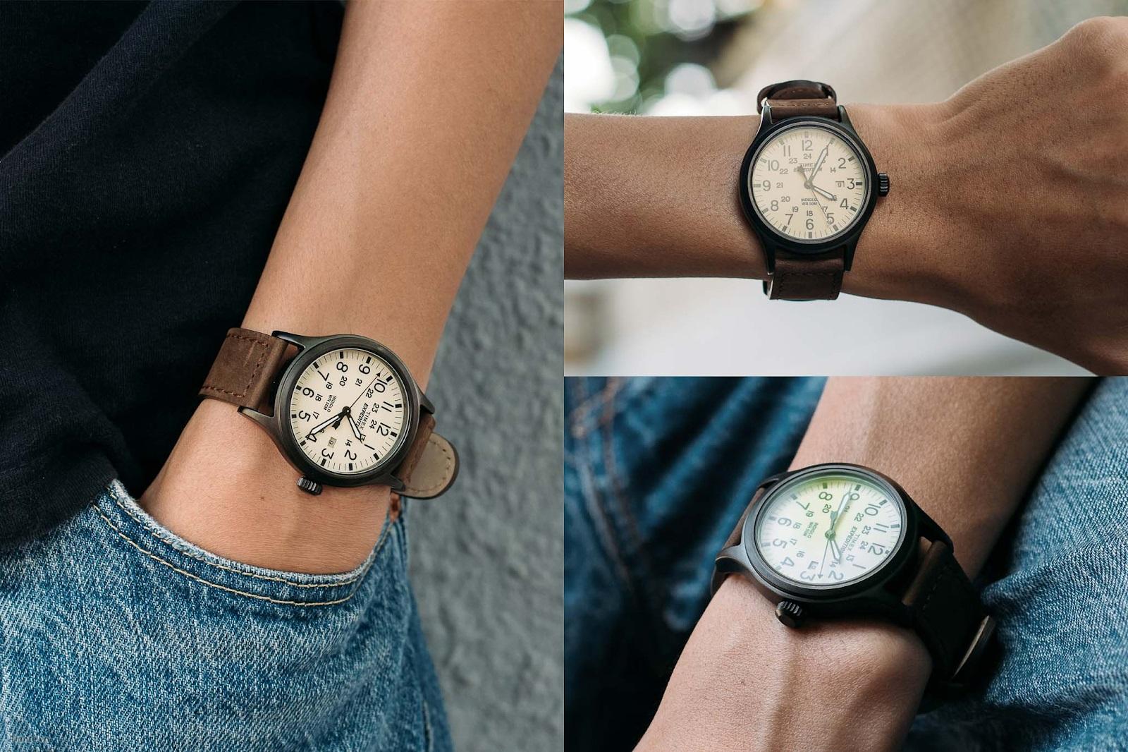 hãy chọn mặt đồng hồ phù hợp với cổ tay