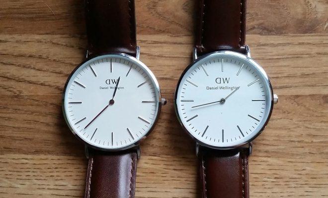 những dấu hiệu phân biệt đồng hồ DW thật